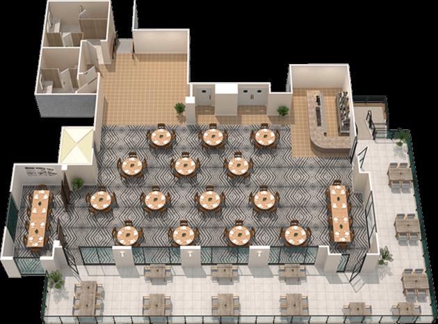 Oxbow Fort Myers 2d floor plan